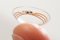 "Google Tests ""Smart"" Contact Lens for People With Diabetes"