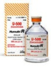 Lilly to Address Humulin R U-500 Insulin Errors